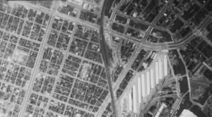 1936新橋駅航空写真